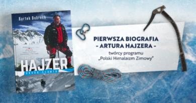 """""""Artur Hajzer. Droga Słonia"""" od Wydawnictwa Znak"""