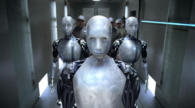robot w filmie