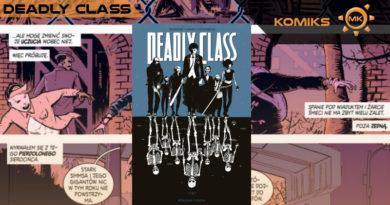 Deadly Class. Tom 1 – śmiertelna rozrywka dla dorosłych