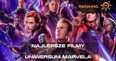 Najlepsze filmy kinowego Uniwersum Marvela