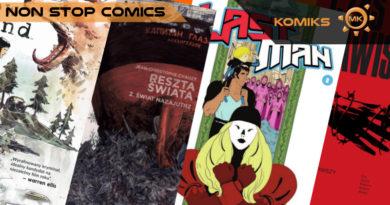 Październikowe nowości Non Stop Comics