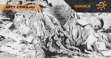"""""""Mity Cthulhu"""" – recenzja wyjątkowego komiksu"""