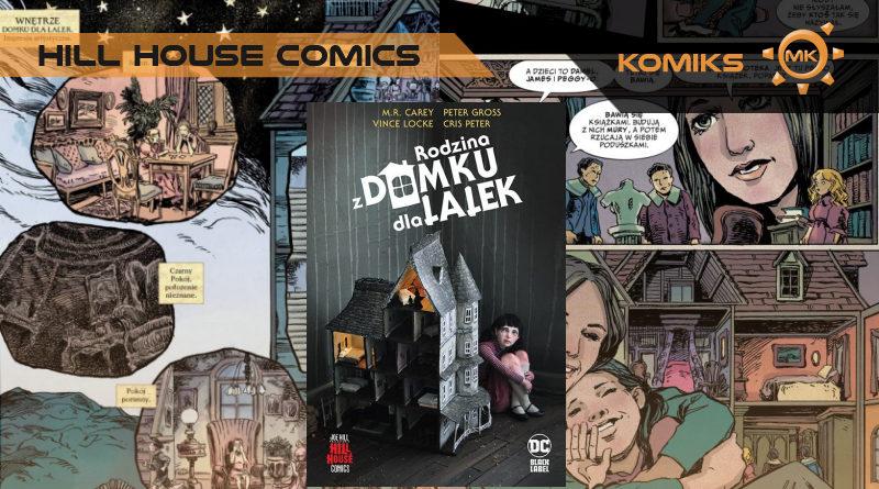 rodzina z domku dla lalek hill house comics