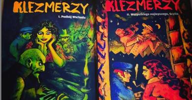"""""""Klezmerzy – 1 – Podbój Wschodu"""", """"Klezmerzy – 2 – Wszystkiego najlepszego, Scyllo"""". Joann Sfar – recenzja"""